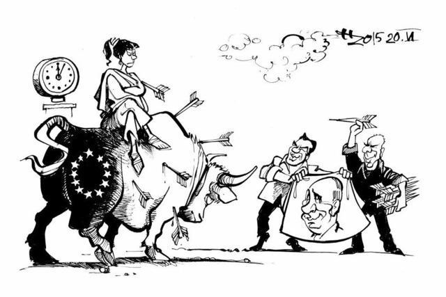 Tsipras und Co bemühen sich um Entspannung