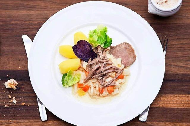 Hohe Kochkunst im Landgasthof Rebstock in Egringen