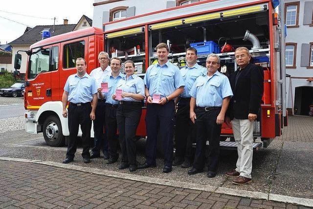 Feuerwehr nimmt Führerscheinprüfung ab