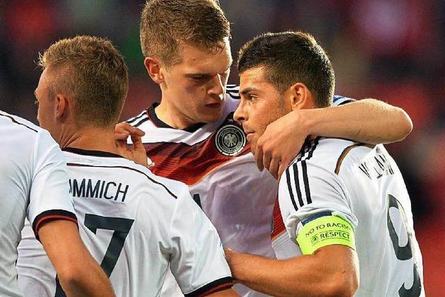 U21 feiert 3:0-Erfolg gegen Dänemark – Ginter trifft