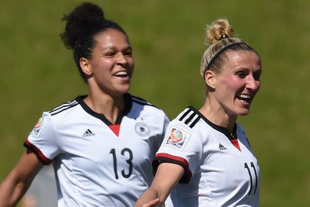 DFB-Frauen stürmen gegen Schweden ins WM-Viertelfinale