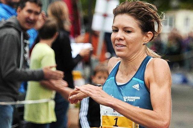 Svenja Abel mit neuem Streckenrekord