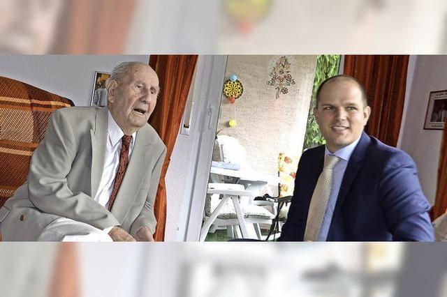 Der erste 100-jährige Mann seit langem