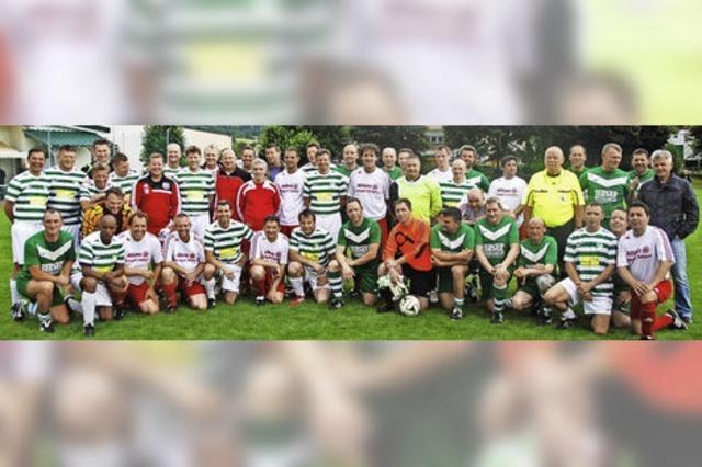 Ein großer Tag für den Fußballverein