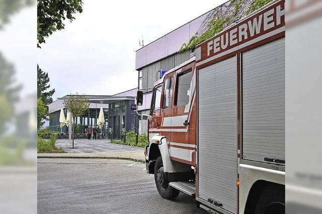 Brand in Sauna des Aqualon endet glimpflich