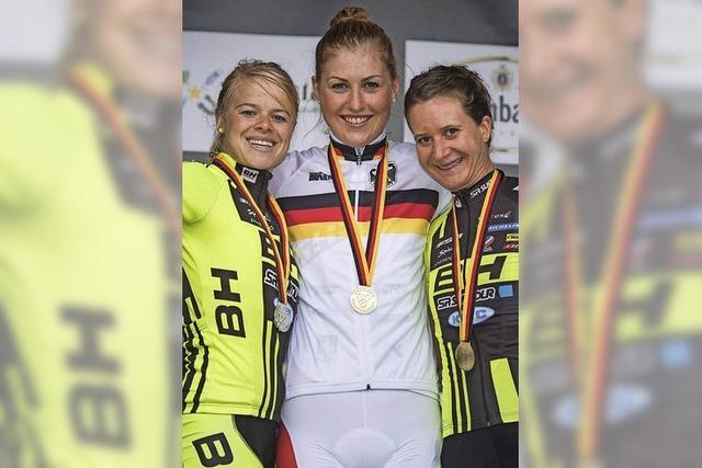 Helen Grobert wird Deutsche Meisterin im Cross-Country