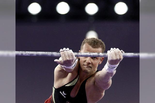 Fabian Hambüchen geht auch sportlich voran