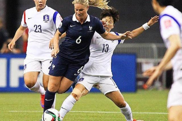 DFB-Frauen spielen gegen Frankreich – Schweiz ist raus