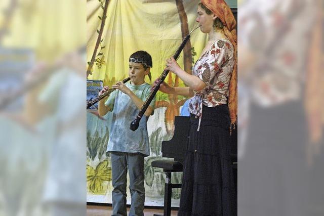 Schülerkonzert der Oboen- und Blockflötenklasse