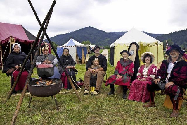 Uriges Fest im Silberwald
