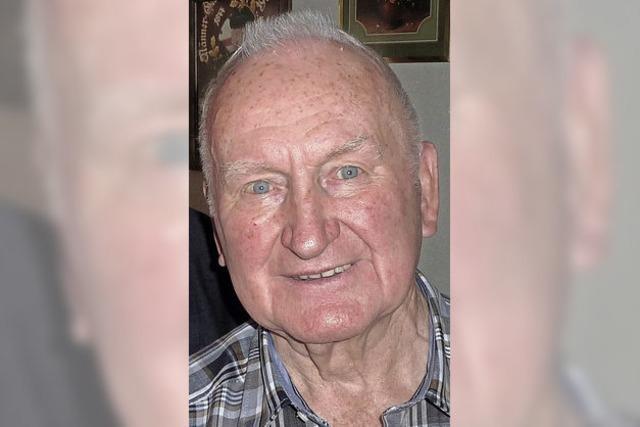 Artur Mick wurde 85 Jahre