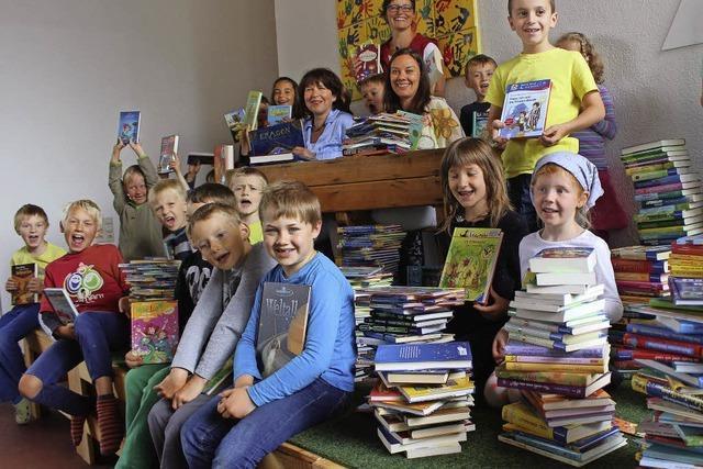 Bücherwürmer freuen sich