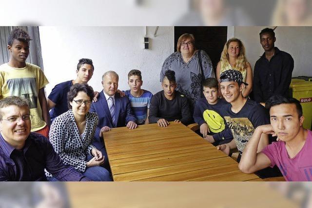 Peter Weiß will junge Flüchtlinge unterstützen