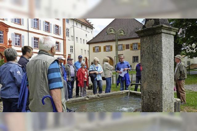 Von Quellen, Brunnen, Rinnsalen und anderem Wasser