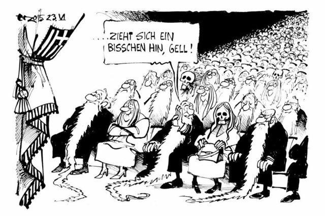 Letzter Akt der griechischen Tragödie