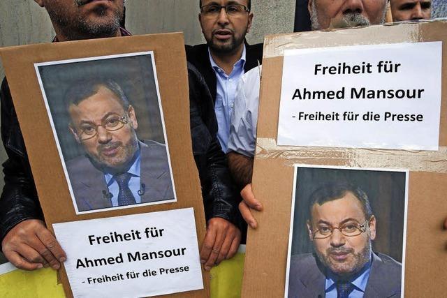 Ägyptischer Journalist Mansur ist wieder frei