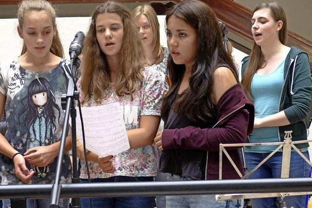 Die Schulen machen Musik