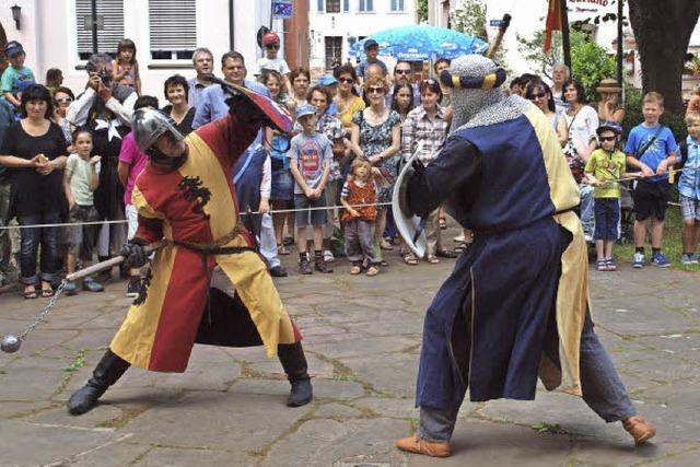 Mittelalter-Spektakel in Kenzingen