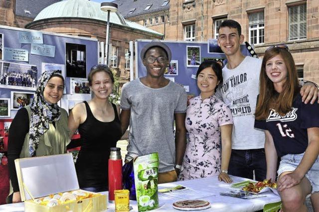 Der Studenten-Verein Aiesec sieht die Welt als Dorf