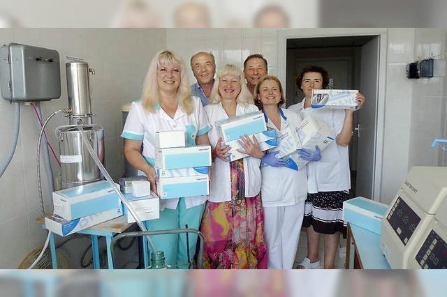 Die KiHev-Hilfe geht weiter