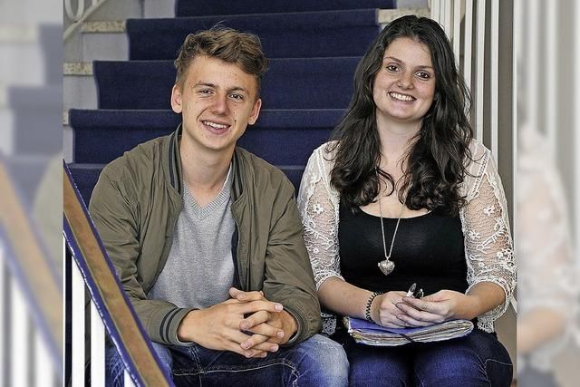 Zwei Freiburger Schüler waren als Abgeordnete in Berlin