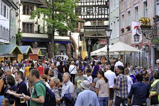 Am Wochenende steigt in der oberen Altstadt der 45. Oberlindenhock