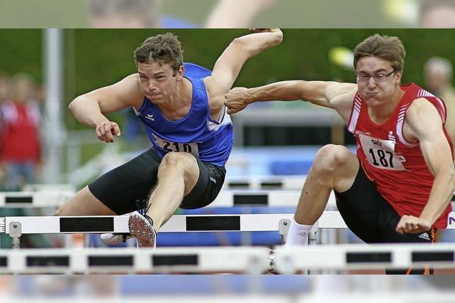 Leichtathleten bringen zwei Medaillen mit
