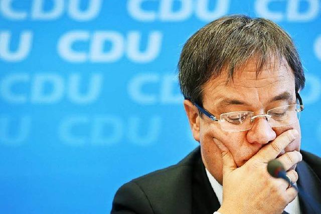Oppositionsführer Armin Laschet demontiert sich selbst