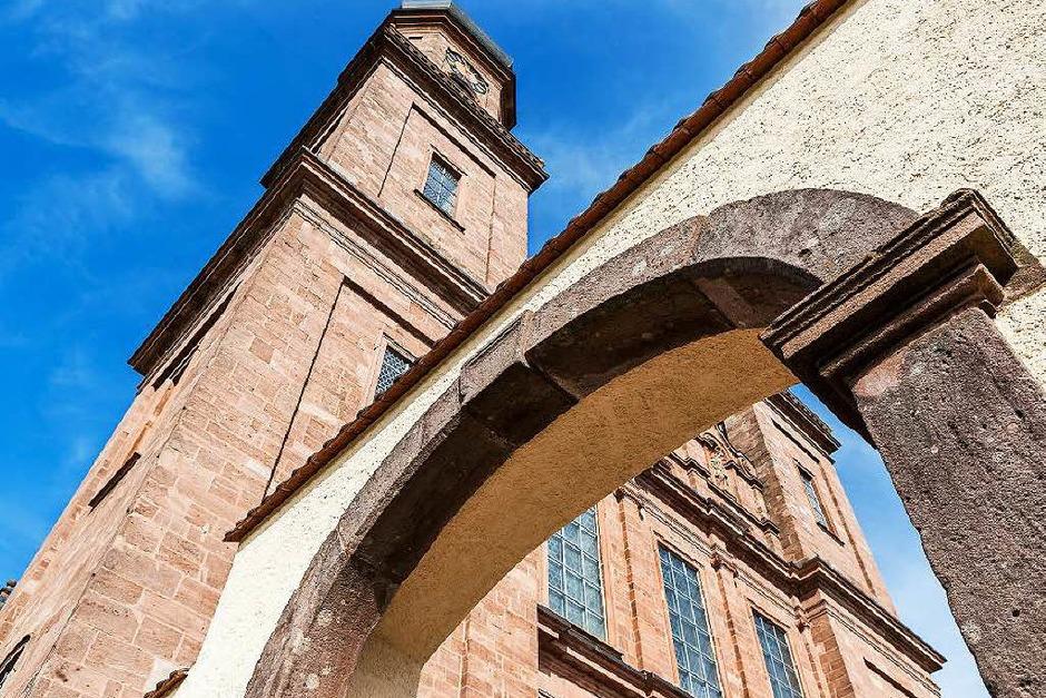 Die Barockkirche in St. Peter (Foto: Carlotta Huber)