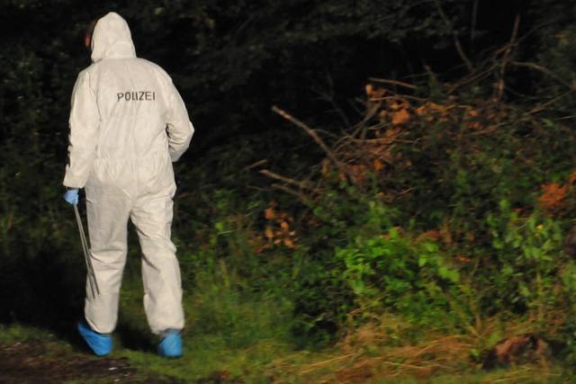 Verbrannte Leiche bei Offenburg: Mann wurde umgebracht