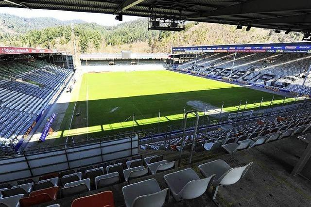 SC-Stadion aus Holz? Regierungspräsidium unterstützt Prüfung