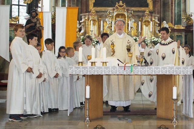 Ringsheim feiert das Fest des Kirchenpatrons