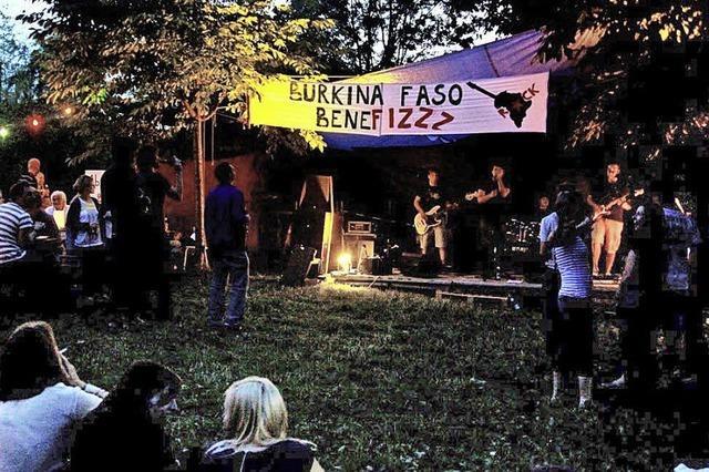 Benefiz-Festival für Burkina Faso in Teningen-Nimburg