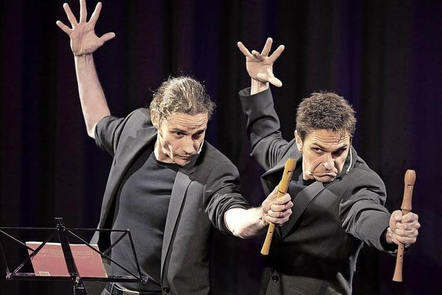 Comedy und Revue mit dem Duo Junge Junge in Gengenbach