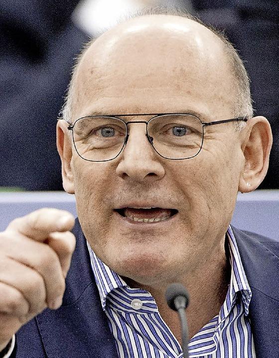 Verkehrsminister Hermann hat Post von ...igenen Partei aus der Region bekommen.  | Foto: dPA