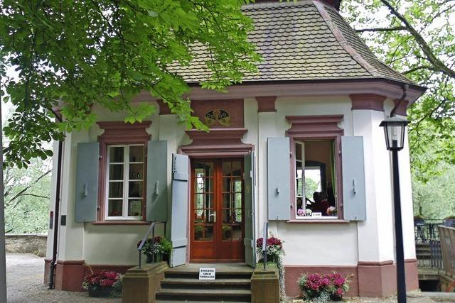 Schlosspark-Café soll Teil des Stadtstrands werden