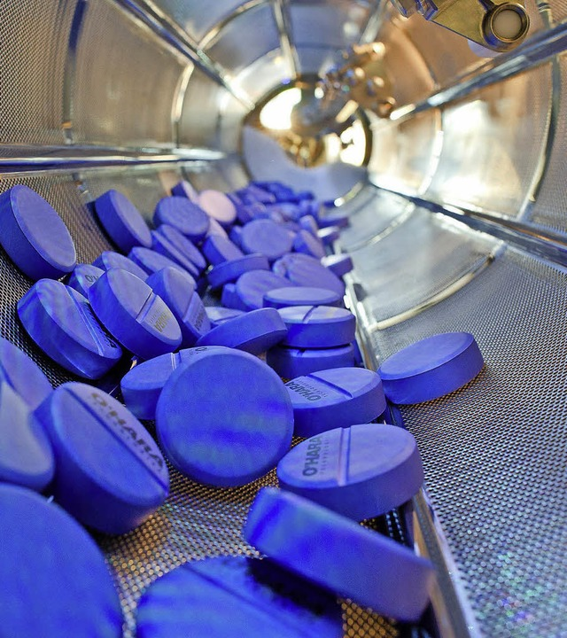 Chemie und Pharma sind im Urteil der B...tand wichtigsten Branchen der Region.   | Foto: dpa