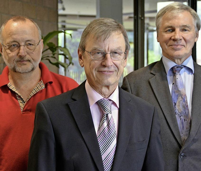 Klaus Kessner, Bernhard Rieder, Wilfried Penshorn (von links).   | Foto: Baas