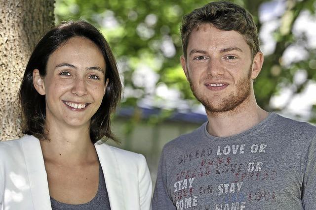 Freiburger Grüne wählen Ella Müller und Niklas Janssen zu Parteisprechern