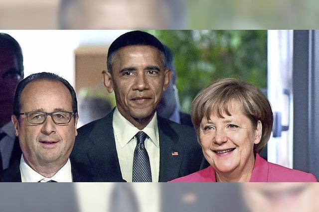 Hollande beschwerte sich über Merkel