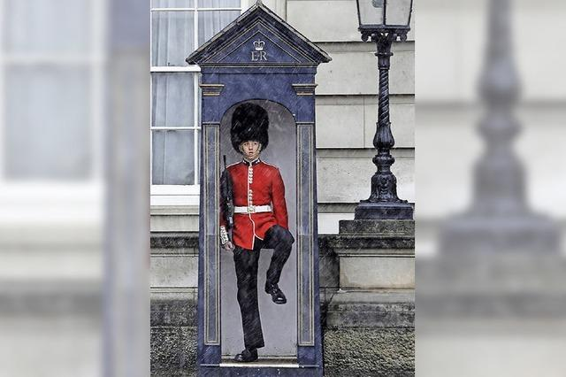 Im Palast der Queen bröckelt der Putz von den Wänden