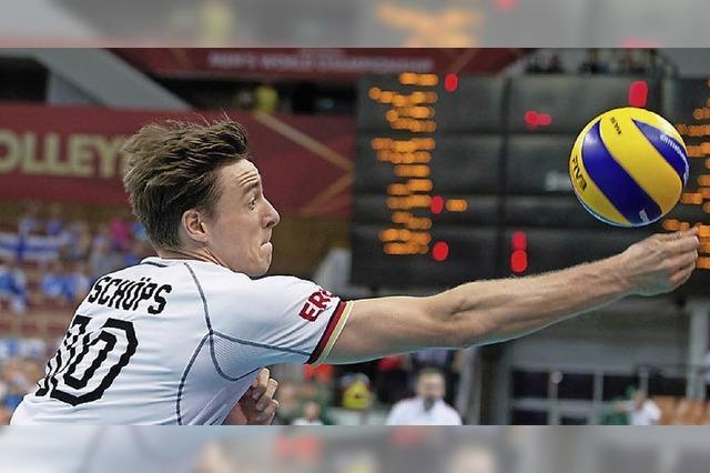 Die deutschen Volleyballer blocken sich ins Halbfinale