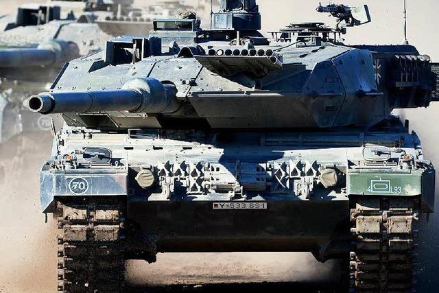 Deutschland exportiert weniger Waffen