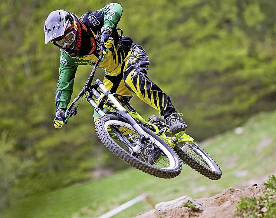 Abheben erlaubt: Downhill-Mountainbiking  | Foto: ZVG