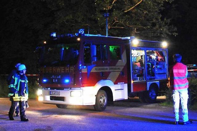 Verbrannte Leiche in Offenburg: Opfer starb nicht durch Feuer