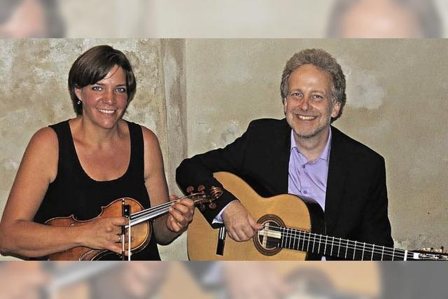 Duo Misteriosa Vida spielt Barockmusik und Tango in Ebringen
