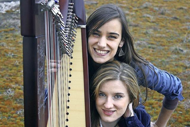 Das Duo Aurea in St. Lioba in Freiburg-Günterstal