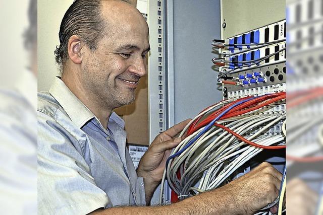 Neuer Server und jede Menge Kabel