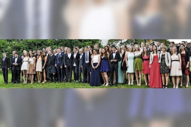Für 66 Schüler fängt das Leben an