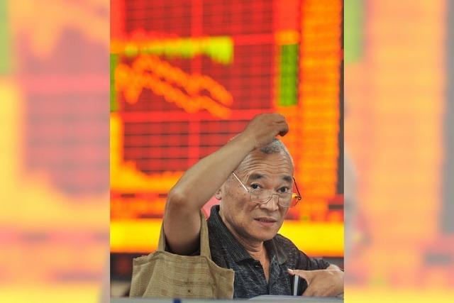 Panik an Chinas Börse